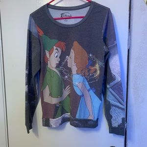 Long sleeve Peter Pan and Wendy shirt